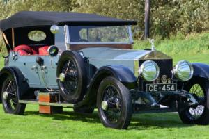 1920 Rolls Royce Silver Ghost tourer by Cunard.