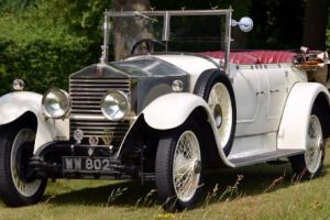1928 Rolls Royce 20hp Tourer.  Photo