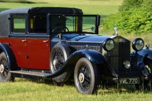 1930 Phantom II Barker Sedanca de Ville.