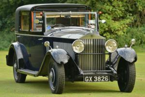 1932 Rolls Royce 20/25 Barker Sedanca