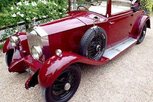 Rolls-Royce 20/25 Doctors Coupe by Barker.  Photo