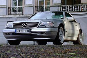Mercedes benz sl 320 convertible