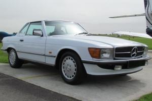 1986 MERCEDES 300 SL AUTO WHITE