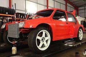1989 MG METRO TURBO ORANGE RWD 300HP