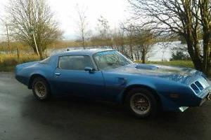 1980 BLUE PONTIAC FIREBIRD TRANS AM 6.6 LITRE