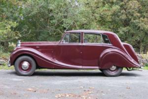 1949 Bentley MK VI H J Mulliner Saloon B256DA