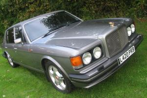 STUNNING 1994 BENTLEY TURBO R LWB SILVER LIMO CELEBRITY OWNED HIGH SPEC FSH RR