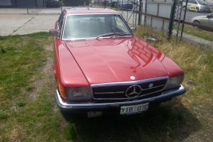 Mercedes Benz 450 SLC 1979 2D Coupe 3 SP Automatic 4 5L Electronic F INJ