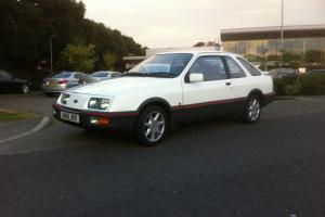 ford sierra XR4i..1983 ...white 3-door ,, 2 former keepers..69.000 miles