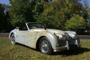 Jaguar xk140 dhc 1955, good project, not rusted
