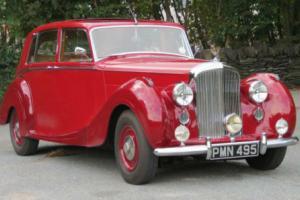 1949 Bentley MKVI H.J.Mulliner Saloon B130EY