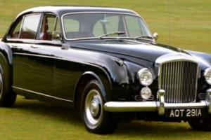 1961 Bentley Continental S2 Flying Spur.  Photo