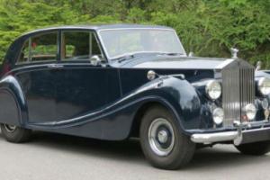 1955 Rolls-Royce Silver Wraith Freestone
