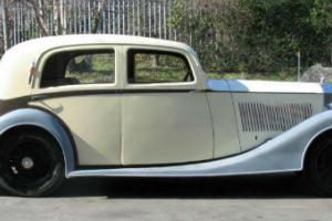 1937 Rolls-Royce 25/30 Franay Saloon GRP33