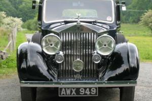 1935 Rolls-Royce 20/25 Rippon Six-light Saloon GXK25