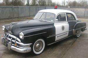 1950 PONTIAC SILVER STREAK CHIEFTAIN AMERICAN POLICE CAR PROP  Photo