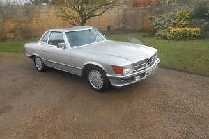 1982 X MERCEDES 380 SL