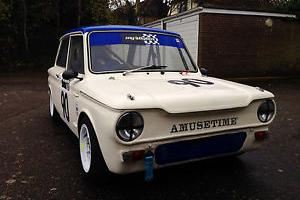 FULL RACE 1966 HILLMAN IMP - COMPLETE - HSCC BY-BOX TOURING CAR
