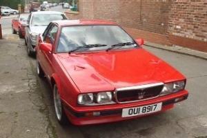 Maserati Karif, 1991, twin turbo Hand built by Zagato,future classic,very rare for Sale