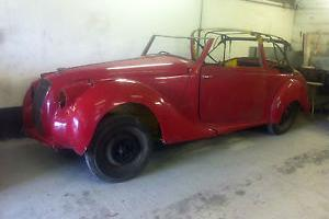 Lagonda 2.6 dhc for complete restoration and Lagonda 2.6 saloon for parts.