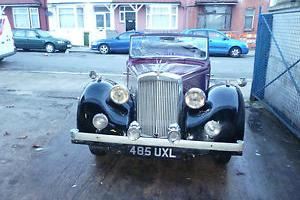 1948 ALVIS TA14 DHC MAROON/BLACK Photo