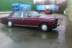 1984 BENTLEY RED
