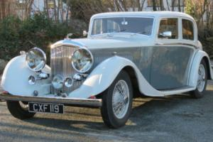 1935 Bentley 3 1/2 ltr Thrupp & Maberly Saloon B36EF