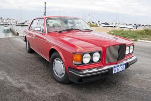 1987 V8 Bentley Turbo R Cream Hide $10 000 Bills in Perth, WA