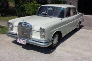 Mercedes Benz 220 SEB Finnie 1960 4D Sedan 4 SP Manual 2 2L Fuel Injected in Brisbane, QLD