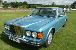 1991 BENTLEY MULSANNE S AUTO BLUE 56.000 miles rarer than Turbo R