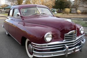 BEAUTIFUL - RARE 1949 PACKARD STANDARD 8 TOURING SEDAN 56K ACTUAL MILES NICE !!