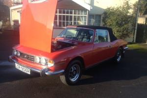 1976 (R Reg) TRIUMPH STAG Mk2. AUTO SUPERB ORIGINAL 2997cc V8 3OWNERS FROM NEW