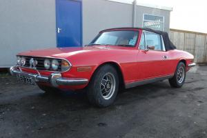 1975 TRIUMPH STAG 3.0 AUTO ESSEX ENGINE STARTS+DRIVES SPARES OR REPAIRS