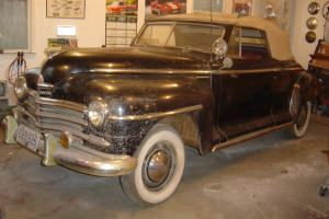 1946 Plymouth P15 Convertible Coupe All Original