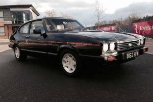 1985 FORD CAPRI INJECTION BLACK 90K TAXED AND MOT'D SWAP PX