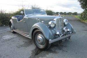 1948 ROVER - 12 TOURER (pearl grey)