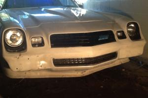 Chevrolet : Camaro White Photo