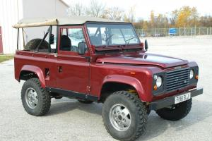 Land Rover : Defender Soft Top Photo