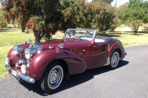1949 Triumph 2000 Roadster in Central West, NSW