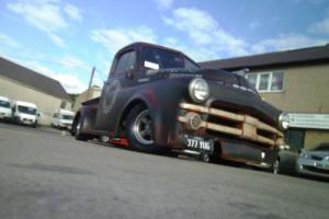 1952 dodge job rated B series custom rat rod pick up truck