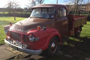 1962 Bedford J Series 1.5 Tonne Truck Chassis up Restoration Show Condition