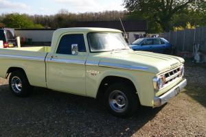dodge d100 1968 shortbed pickup 340 MOPAR