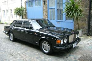 Rare Bentley Turbo R LHD(!) Automatic Black Exterior / Black Leather Low Mileage