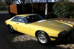 Jaguar XJS 1976 First year edition