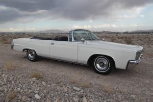 Chrysler : Imperial Imperial Convertible