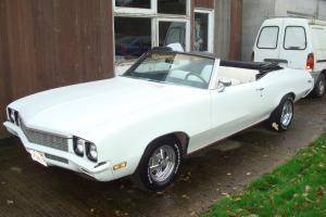 1970 BUICK SKYLARK CUSTOM 350/V8 AUTO CONVERTIBLE !!!