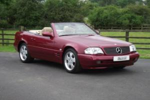 Mercedes-Benz SL280 | Amber Red | Saffron Leather | 54k miles