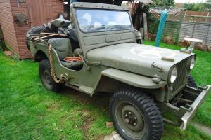willys jeep ex swiss army 1949 Photo