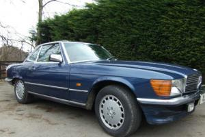 1986 Mercedes-Benz 300SL in Nautical Blue, automatic