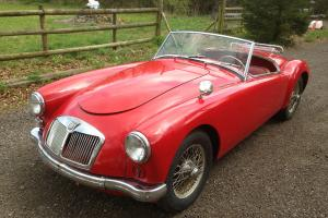 1959 MG A MGA 1600 Left Hand Drive LHD Roadster NO RESERVE BID AND WIN